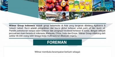 Foreman Wilmar