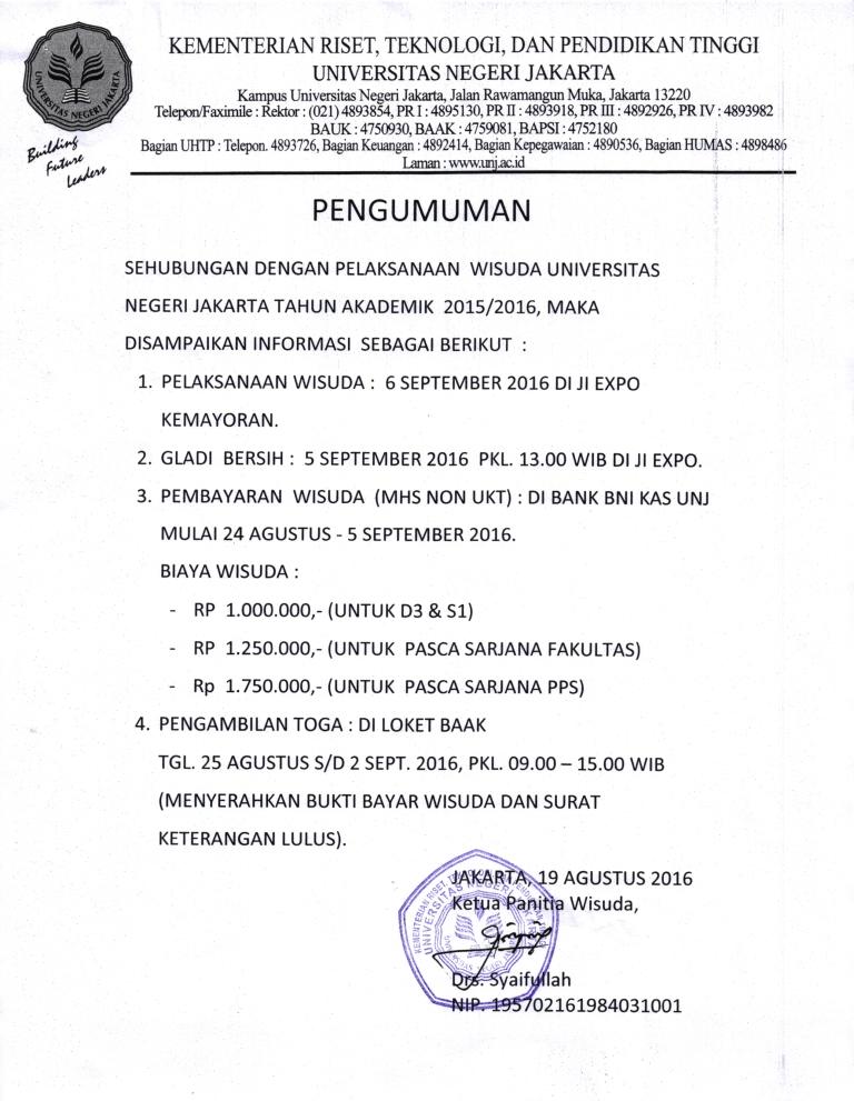 Info Wisuda 104
