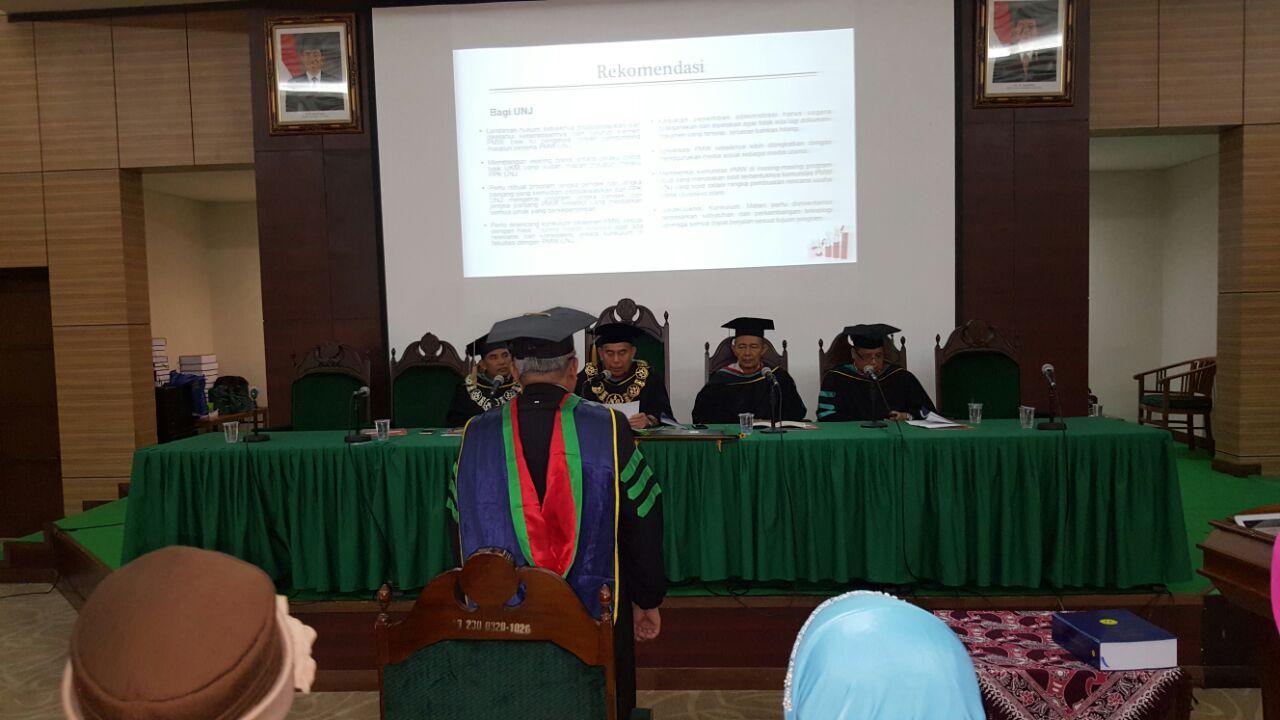 Sidang Terbuka Dr. Henry Eryanto