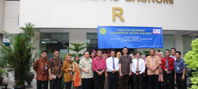 Awal Tahun, Fakultas Ekonomi-UNJ Raih ISO 9001:2015