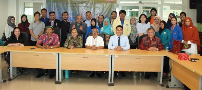 Delegates of STUST, Taiwan