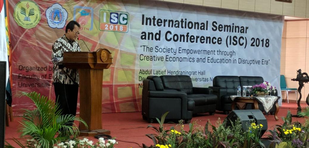 Bekerja sama dengan National University of Tainan dan Universitas Negeri Gorontalo, UNJ Gelar Seminar Internasional