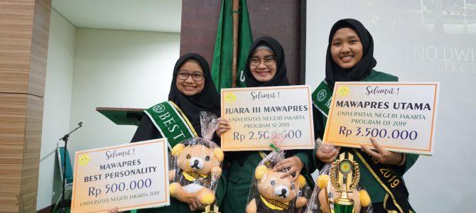 Fakultas Ekonomi Bawa 3 Kemenangan dalam Pemilihan Mahasiswa Berprestasi UNJ 2019