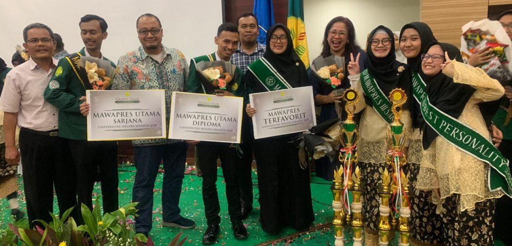 Grand Final Mawapres Universitas Negeri Jakarta: Fakultas Ekonomi Meraih 3 Juara